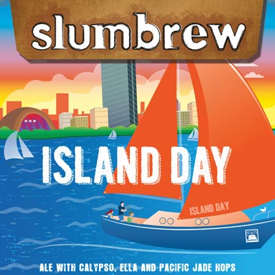Island Day Pale Ale with Calypso, Ella and Pacific Jade hops
