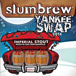 Yankee Swap 2014 Imperial Stout Ale Aged in Oak Rum Barrels