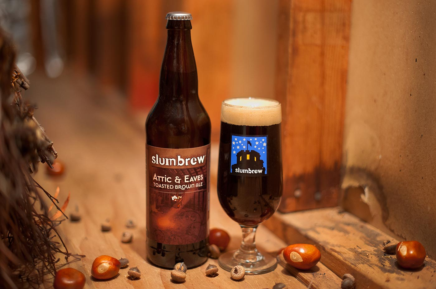Slumbrew Attic and Eaves 2014