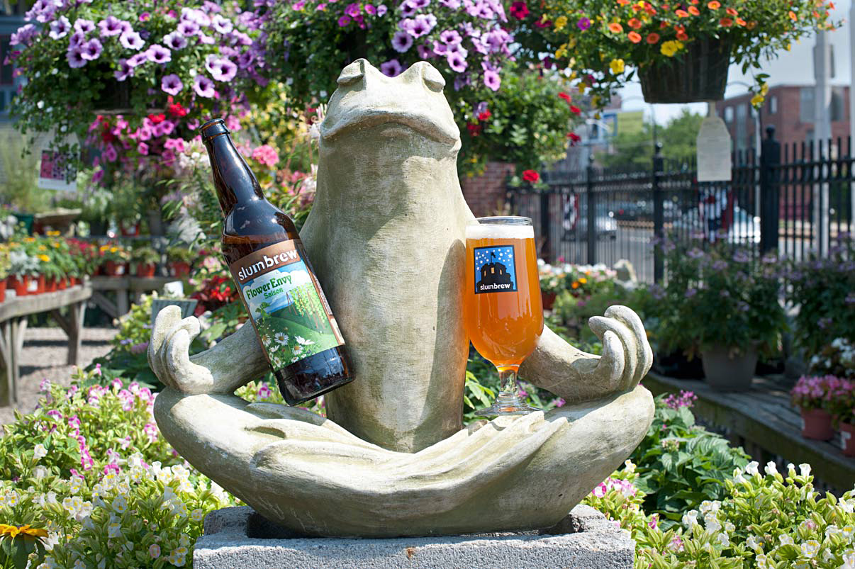 Slumbrew Flower Envy with Frog Verrill