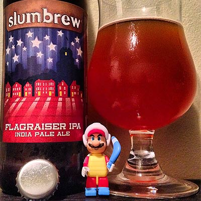Slumbrew Flagraiser with Mario