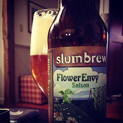 Slumbrew Flower Envy Hiding Glass