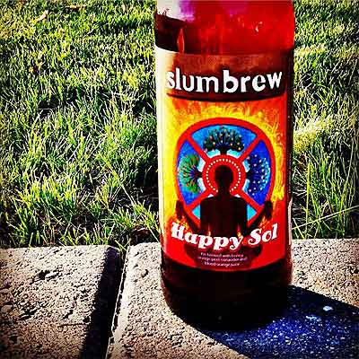 Slumbrew Happy Sol On Sidewalk