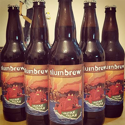 Slumbrew Lobstah Killah Bottle Triangle