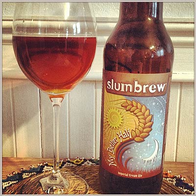 Slumbrew My Better Half In Wine Glass