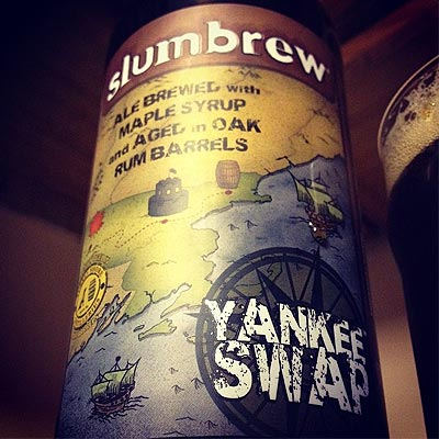 Slumbrew Yankee Swap Looming Above